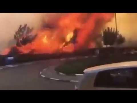 Firestorm in israel   YouTube