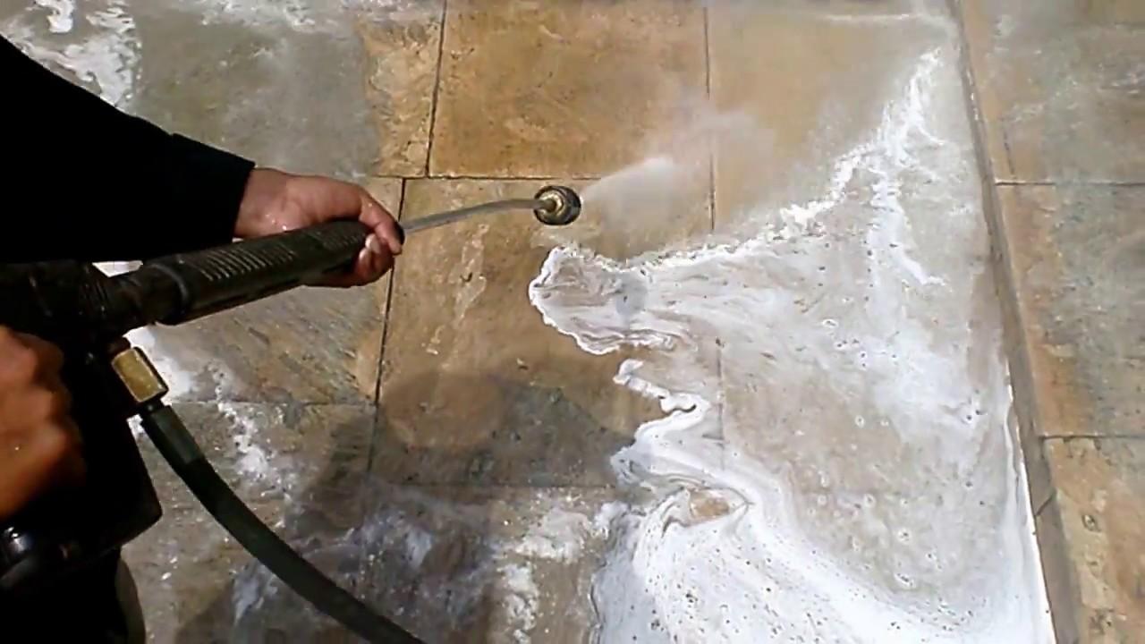 Limpieza lajas retirado de cera mansercom peru 450 3926 - Limpiar piedra natural exterior ...