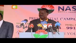 Raila amtaka Rais Kenyatta kujiuzulu