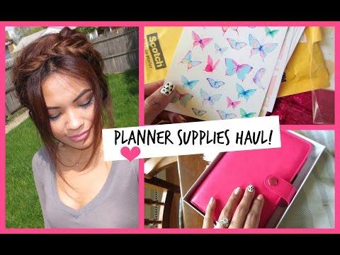 Planner Supplies Haul! | BelindasLife