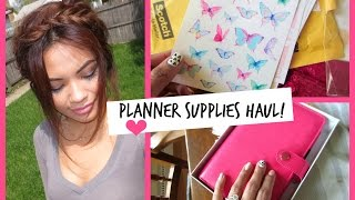 Planner Supplies Haul! | Belindaslife