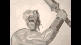 """Hercules Dwayne """"The Rock"""" johnson drawing"""