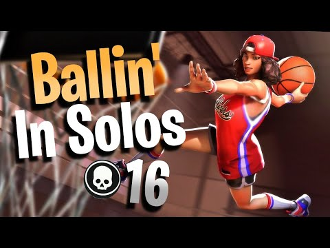 BALLIN' IN SOLOS!!! 16 Kills With Triple Threat (Fortnite Battle Royale)