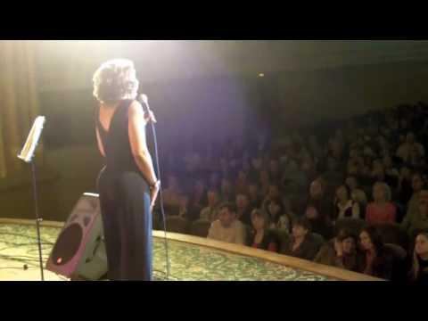 "Ava Logan "" A Russian Tour"" Minsk Belarus Opera House ""Satin Doll"""