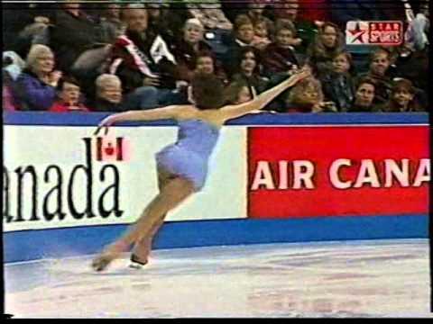 Sarah Hughes USA - 2001 Skate Canada SP