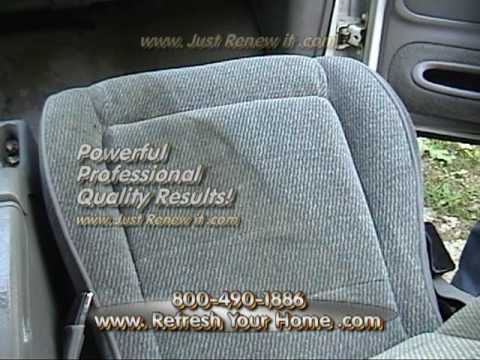 upholstery cleaning car cleaning guru full video. Black Bedroom Furniture Sets. Home Design Ideas