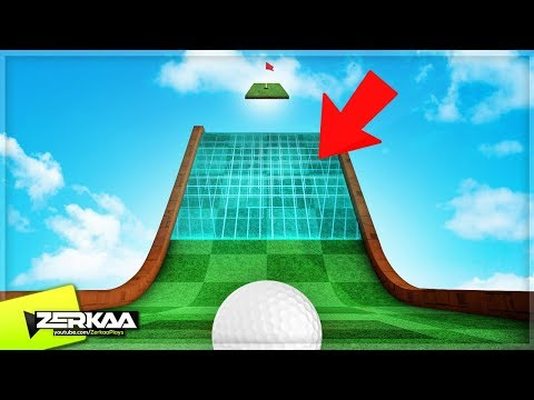 NEW TRON BOOST RAMPS! (Golf It)