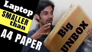 Laptop SMALLER than A4 PAPER with Face Unlock | Review 2019