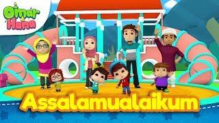 Omar & Hana mempersembahkan lagu 'Assalamualaikum' khas untuk semua...