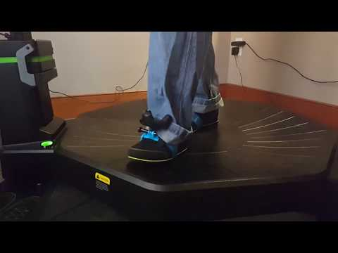 Virtuix Omni with Vive Tracker foot tracking