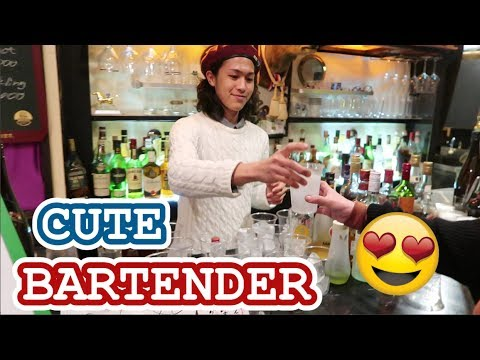 Super Cute Japanese Bartender | Vlogmas #9