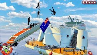 GTA 5 New Yacht Glitches & Stunts - GTA 5 Funny Moments (GTA 5 Yacht)