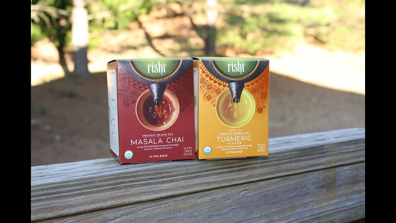 Rishi Tea Delicious Organic Product Review