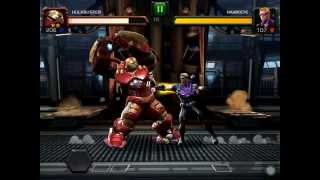 Hulk Buster VS Winter Solder VS Hulk VS Captain America VS Hawkeye : MARVEL Contest of Champions