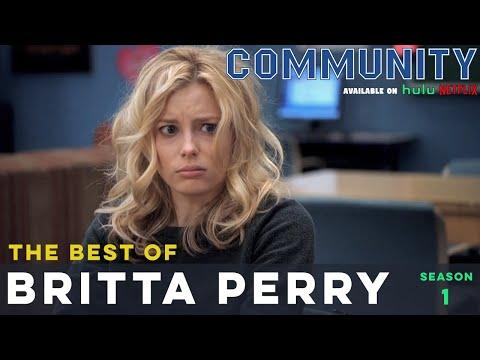 Best Of Britta Perry: Community S01  |  LeoAshe.com