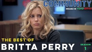 Best of Britta Perry: Community S01  |  LeoAshe.com