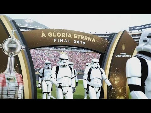 Star Wars: A Ascensão Skywalker na final da Conmebol Libertadores 2019