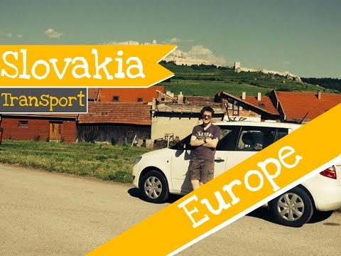 Slovakia ► Rental Car Adventure║Mundo Trundle