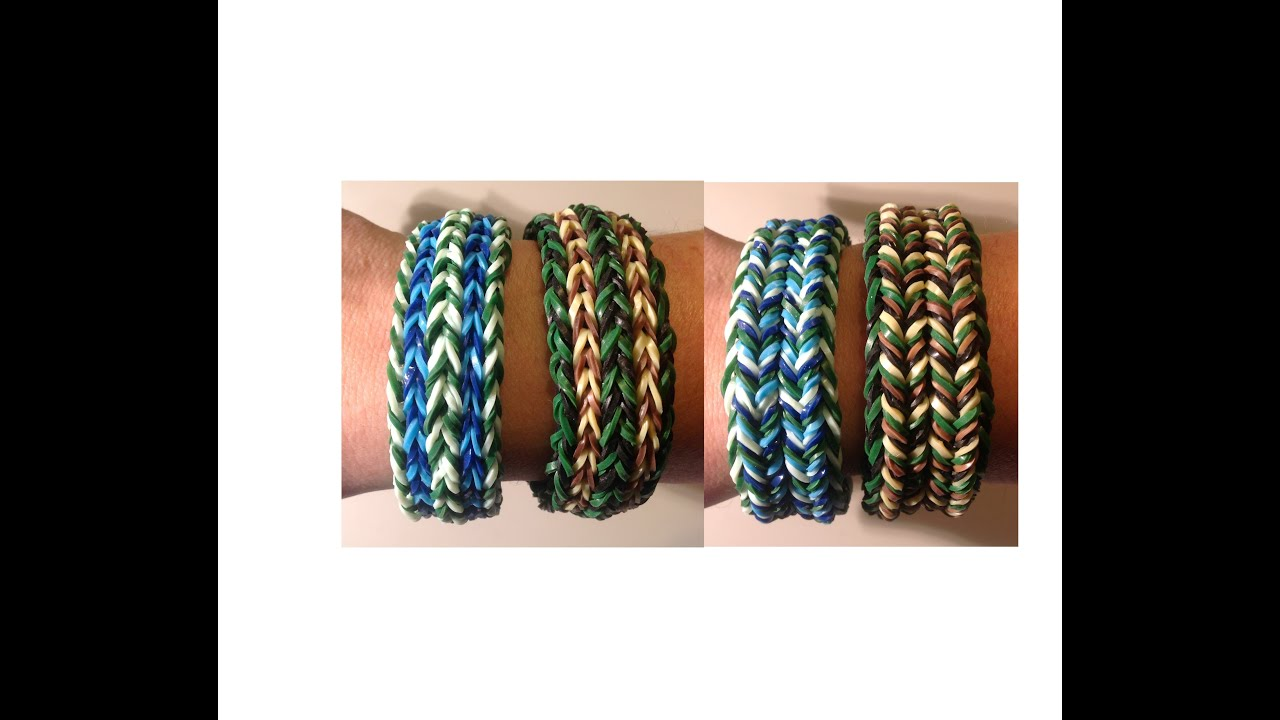 how to make a fishtail bracelet out of wool