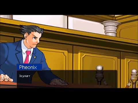Liar Liar Turkey Scene Recreated in Ace Attorney