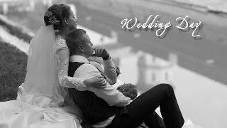 Оля и Сергей, день свадьбы.