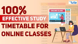 Best Study Timetable for Students   Topper Student Study Time-table   Study Tips   Letstute