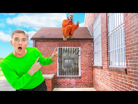 Visiting Game Master in Prison!! (Top Secret Escape Clues Found)