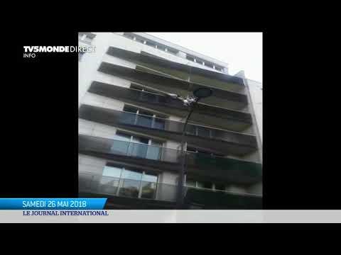 "France : Mamoudou Gassama, ""héros du balcon"""