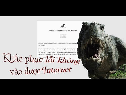 Cách sửa lỗi không vào được Internet - Wifi doesn
