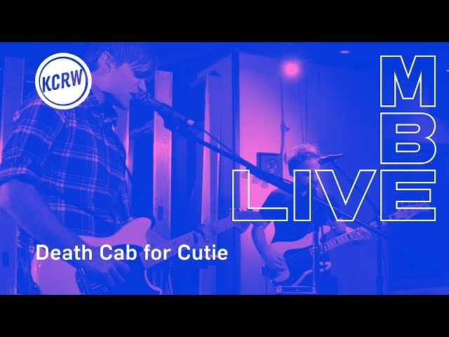 Death Cab for Cutie performing Northern Lights live on KCRW