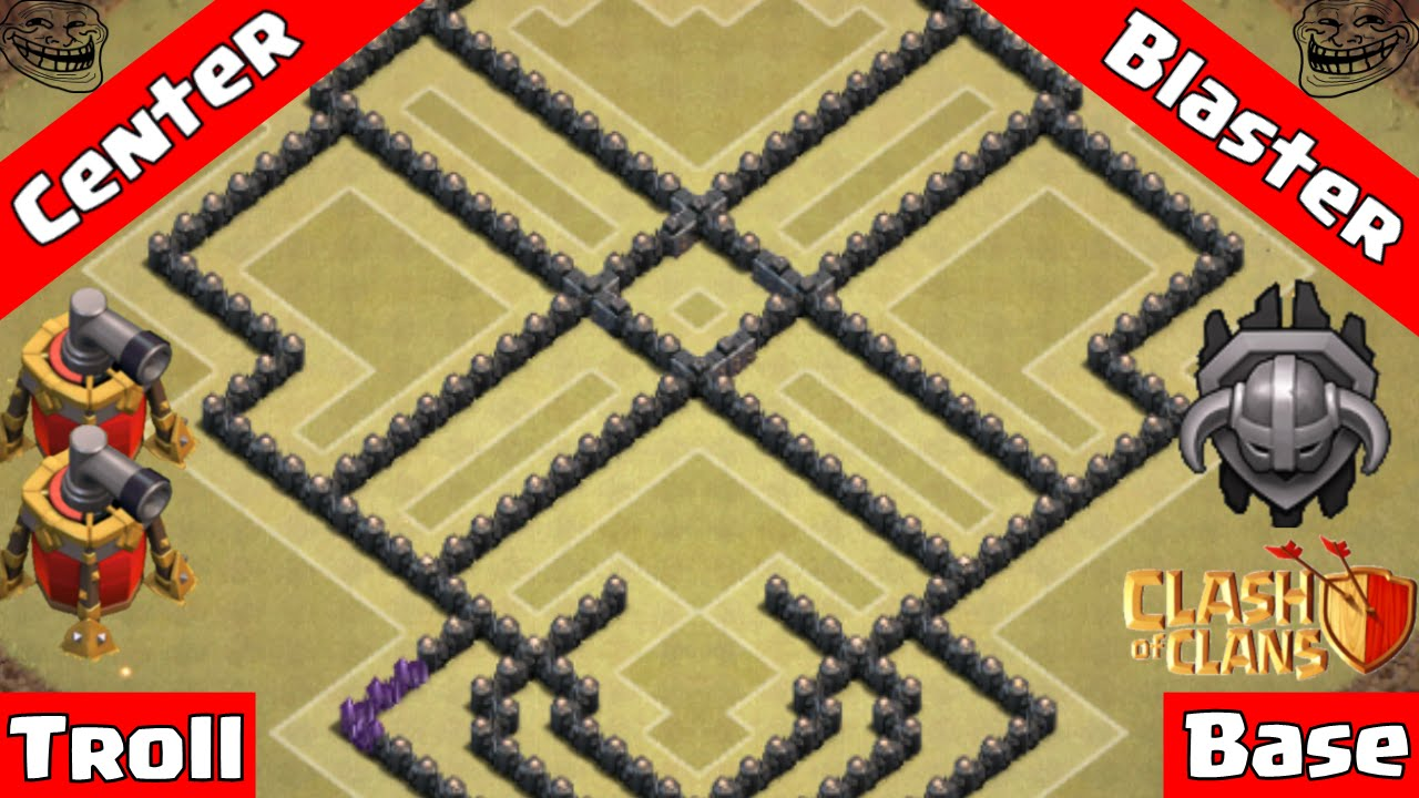 ✅Clash Of Clans TH BEST Troll Base  Air Sweepers
