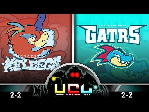 Carolina Keldeos vs Philadelphia Feraligatrs [UCL S1W5] Pokémon ORAS Live Wi-Fi Battle!