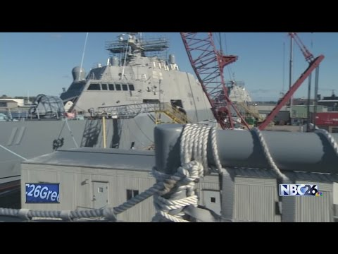 Secretary of the Navy advocates for future of Marinette shipyard