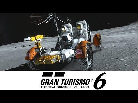 Gran Turismo 6 - Lunar Rover Exploration - Moon Mission 1-3 (GOLD) LRV GT6 Gameplay Walkthrough