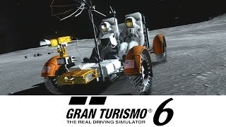 Gran Turismo 6 - Lunar Rover Exploration - Moon Mission 1-3 (GOLD) LRV GT6 Gameplay Walkthrough