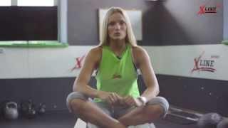 Тренировки по системе кроссфит.  Маша Полусмак