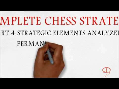 BEGINNER TO 2000 - COMPLETE CHESS STRATEGY PART 4: STRATEGIC ELEMENTS ANALYZED