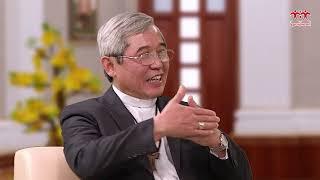 Câu chuyện  gia đình đầu năm với Đức Cha Louis Nguyễn Anh Tuấn ngày mùng 2 Tết