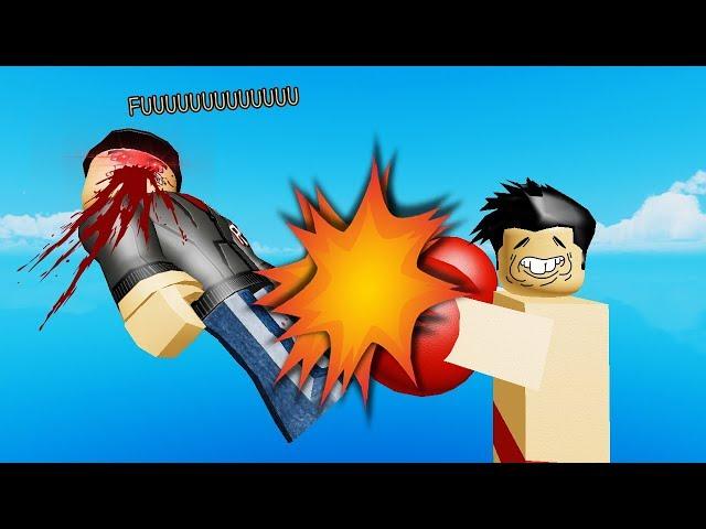 Roblox : Knockout Simulator! จำลองการโดนน็อค KO อย่างน่าสงสาร