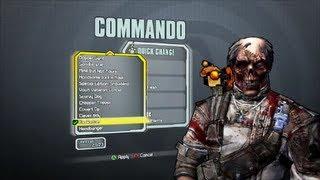Borderlands 2 All Commando DLC Heads and Skins (Supremacy, Madness and Domination)
