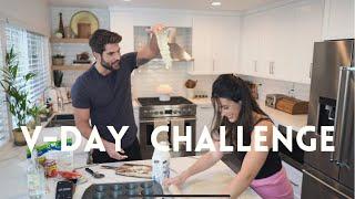 Valentine&#39s Day Challenge with Pizza Roses  Nick Bateman and Maria Corrigan