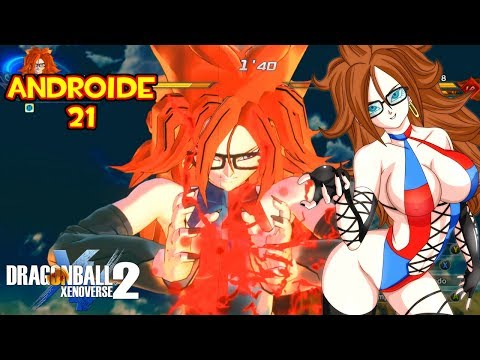 DRAGON BALL XENOVERSE 2 MOD : ANDROID 21 VS ANDROID 18 BATALLA DE ANDROIDES SEXYS | DB FIGHTER Z