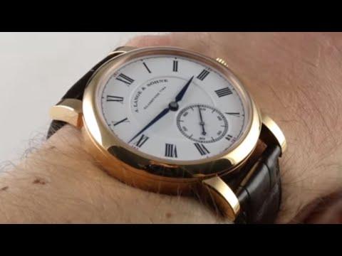 Pre-Owned A. Lange & Sohne Richard Lange Pour Le Merite 260.032 Luxury Watch Review
