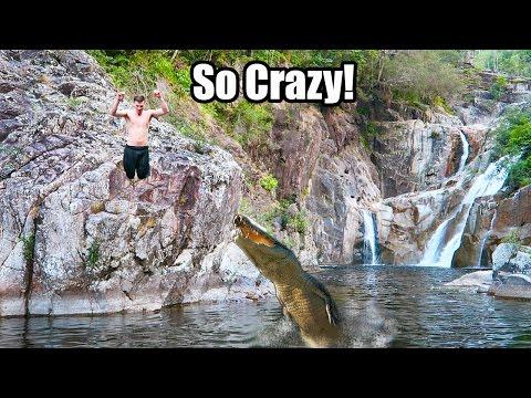 Crocodile Attacks - Most Epic Vlog Ever!