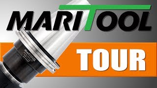 MariTool Factory Tour!  How they make CAT40 Tool Holders!