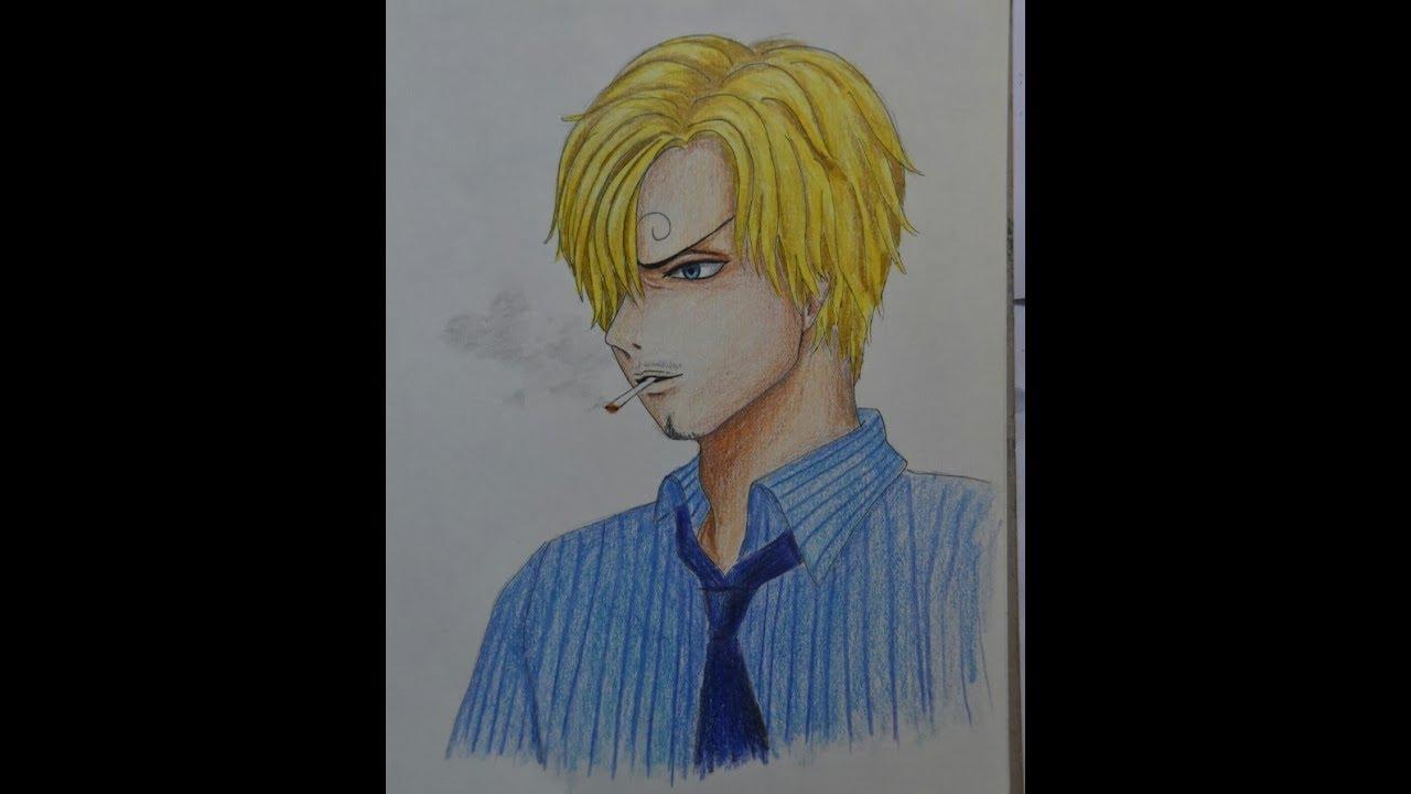 Vẽ Hắc Cước SANJI/ Sanji Drawing/ One Piece