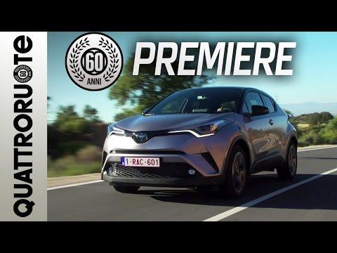 Toyota C-HR: il test drive di Quattroruote - Exclusive Premiere