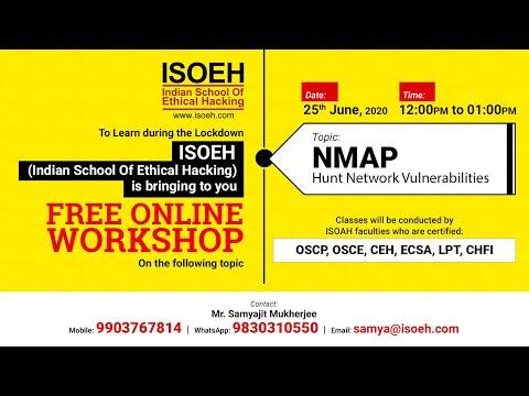 isoeh---live-stream-workshop-on-nmap---hunt-network-vulnerabilities