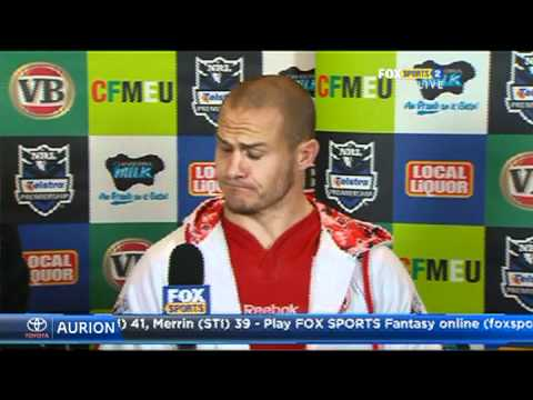 St. George v Canberra- Round 20 Post Game Press Conference
