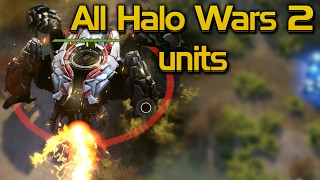 All Halo Wars 2 Units